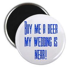 """Buy Me A Beer 2.25"""" Magnet (100 pack)"""