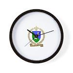 GUYON Family Crest Wall Clock
