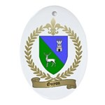 GUYON Family Crest Oval Ornament