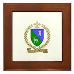 GUYON Family Crest Framed Tile
