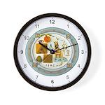 Masons Symbols Wall Clock
