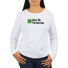 Kiss Me I'm Korean T-Shirt
