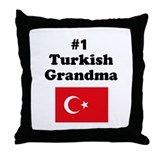 #1 Turkish Grandma Throw Pillow