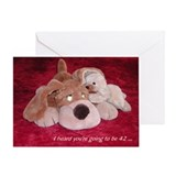 Puppy Whispers - Birthday Card - 42