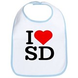 I Love South Dakota/San Diego - Bib
