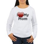 Love Mom Women's Long Sleeve T-Shirt
