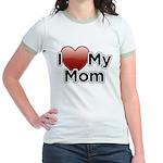 Love Mom Jr. Ringer T-Shirt