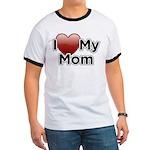 Love Mom Ringer T