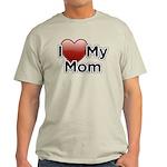 Love Mom Light T-Shirt