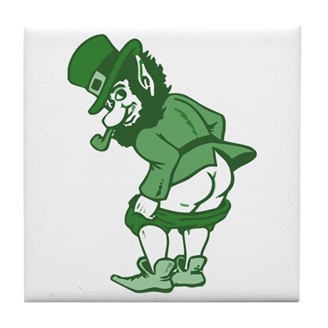 Leprechaun Tile Coaster