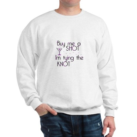 Buy Me A Shot - Retro Martini Sweatshirt