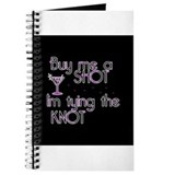 Buy Me A Shot - Retro Martini Journal