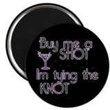 "Buy Me A Shot - Retro Martini 2.25"" Magnet (100 pa"