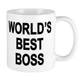 World's Best Boss  Tasse