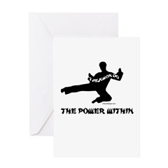 THE POWER WITHIN Greeting Card