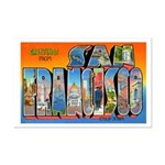 San Francisco California Greetings Mini Poster Pri