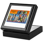 San Francisco California Greetings Keepsake Box