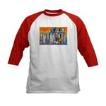 San Francisco California Greetings (Front) Kids Ba