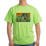 San Francisco California Greetings Green T-Shirt