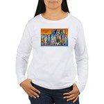 San Francisco California Greetings Women's Long Sl