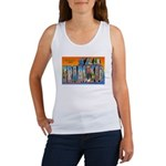 San Francisco California Greetings Women's Tank To