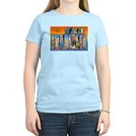 San Francisco California Greetings Women's Light T