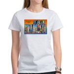 San Francisco California Greetings Women's T-Shirt