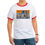 San Francisco California Greetings Ringer T