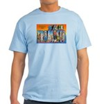 San Francisco California Greetings Light T-Shirt