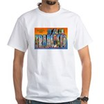 San Francisco California Greetings (Front) White T