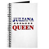 JULIANA for queen Journal