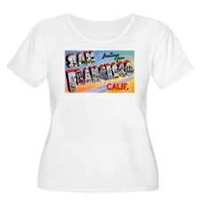 San Francisco California Greetings T-Shirt