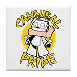 Cannibal Pride Tile Coaster