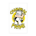Cannibal Pride Rectangle Sticker
