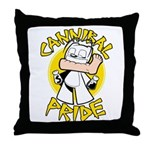Cannibal Pride Throw Pillow