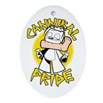 Cannibal Pride Oval Ornament