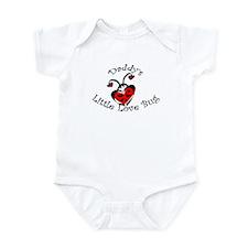 Daddy's Little Love Bug  Infant Bodysuit