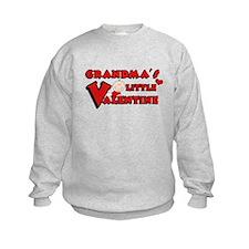 Grandma's Little Valentine Sweatshirt