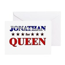 JONATHAN for queen Greeting Cards (Pk of 20)