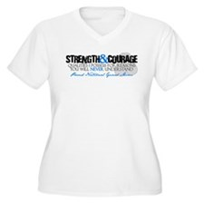 Strength&Courage NG Mom T-Shirt