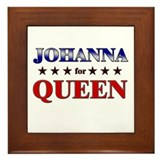 JOHANNA for queen Framed Tile