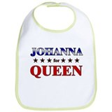 JOHANNA for queen Bib