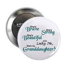 "Lucky Me 1 (Granddaughter OC) 2.25"" Button (100 pa"