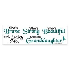 Lucky Me 1 (Granddaughter OC) Bumper Bumper Sticker