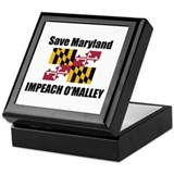 Impeach O'Malley Keepsake Box