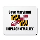 Impeach O'Malley Mousepad