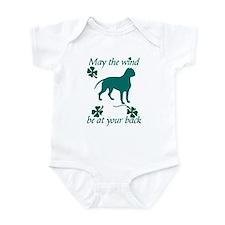 Dogue de Bordeaux and Shamrocks Infant Bodysuit