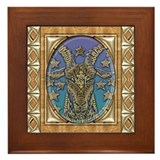 Capricorn Framed Tile
