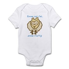 Ewes fluffy Infant Bodysuit