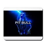 Cute Pit bull Mousepad